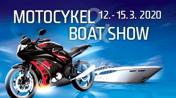 Motocykel Boat show 2020