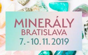 Výstava Minerály Bratislava rozžiari  bratislavskú jeseň