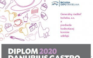 Na veľtrhu gastronómie sa odovzdávali Diplomy Danubius Gastro 2020