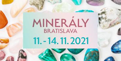 Minerály Bratislava 2021
