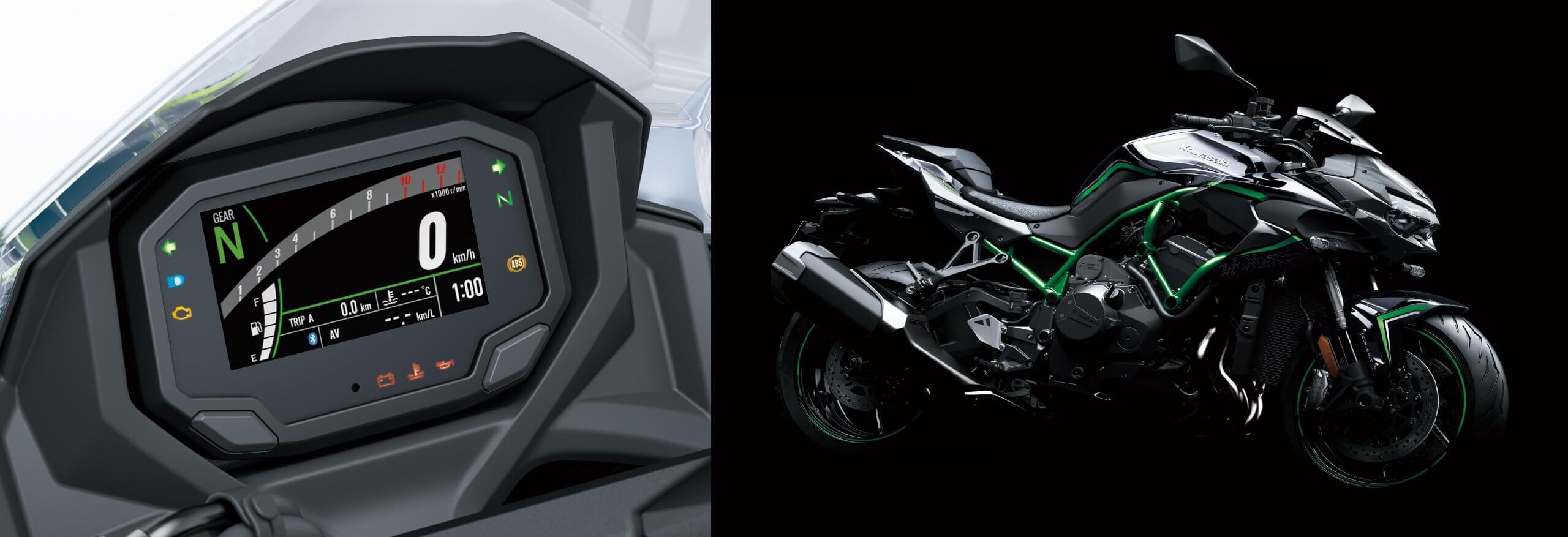 Kawasaki Z H2 - 200 koňová motorka na každodenné použitie