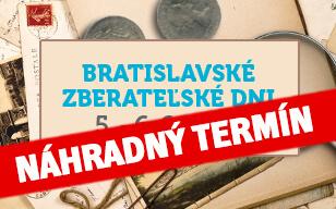 Bratislavské zberateľské dni sa presúvajú na náhradný termín